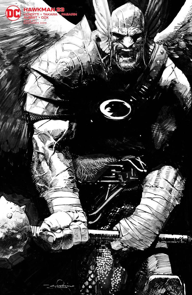 Hawkman #23 Gerardo Zaffino Var Ed