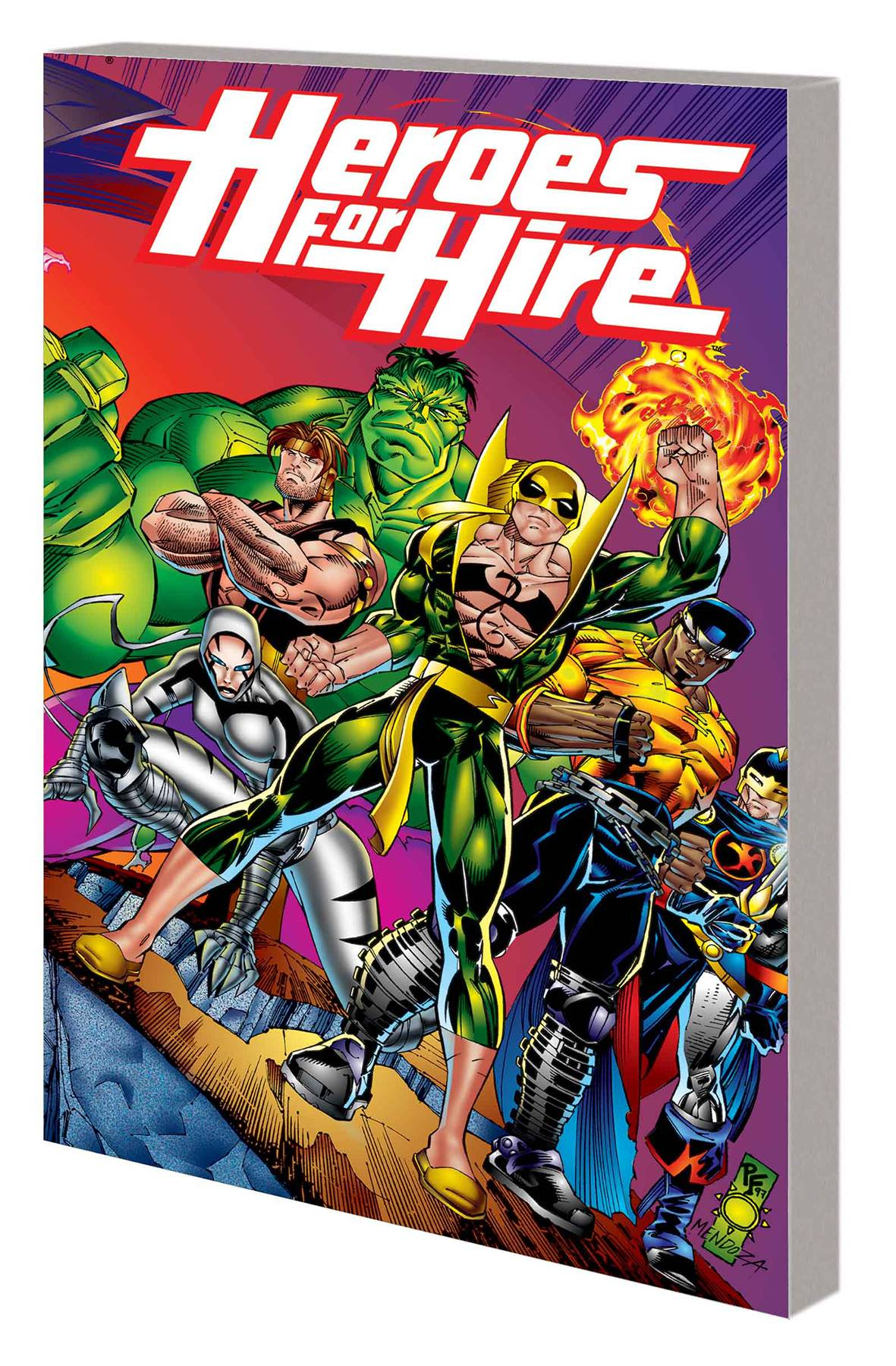 Heroes For Hire TP Vol. 1
