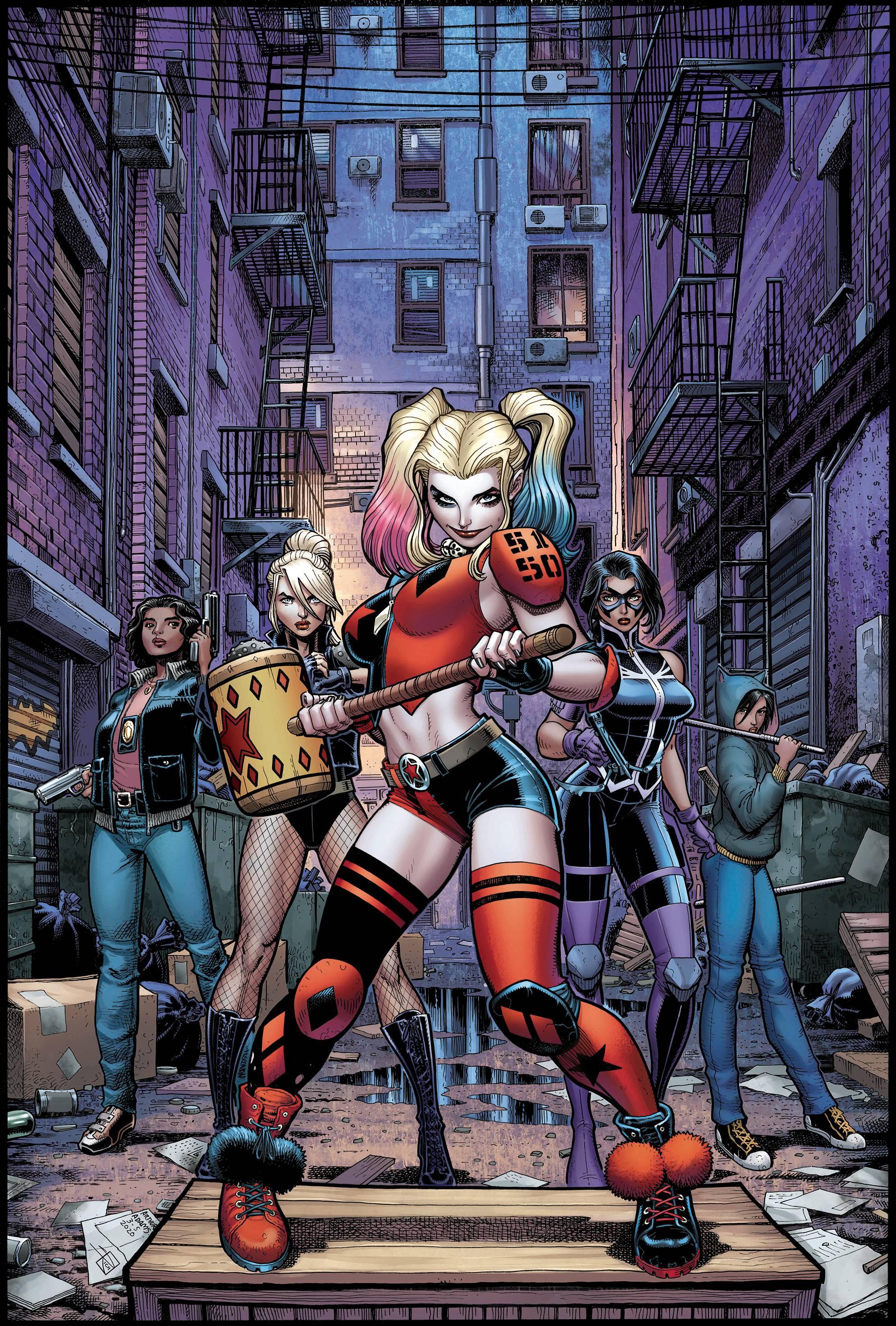 Harley Quinn & The Birds of Prey #2 Arthur Adams Var