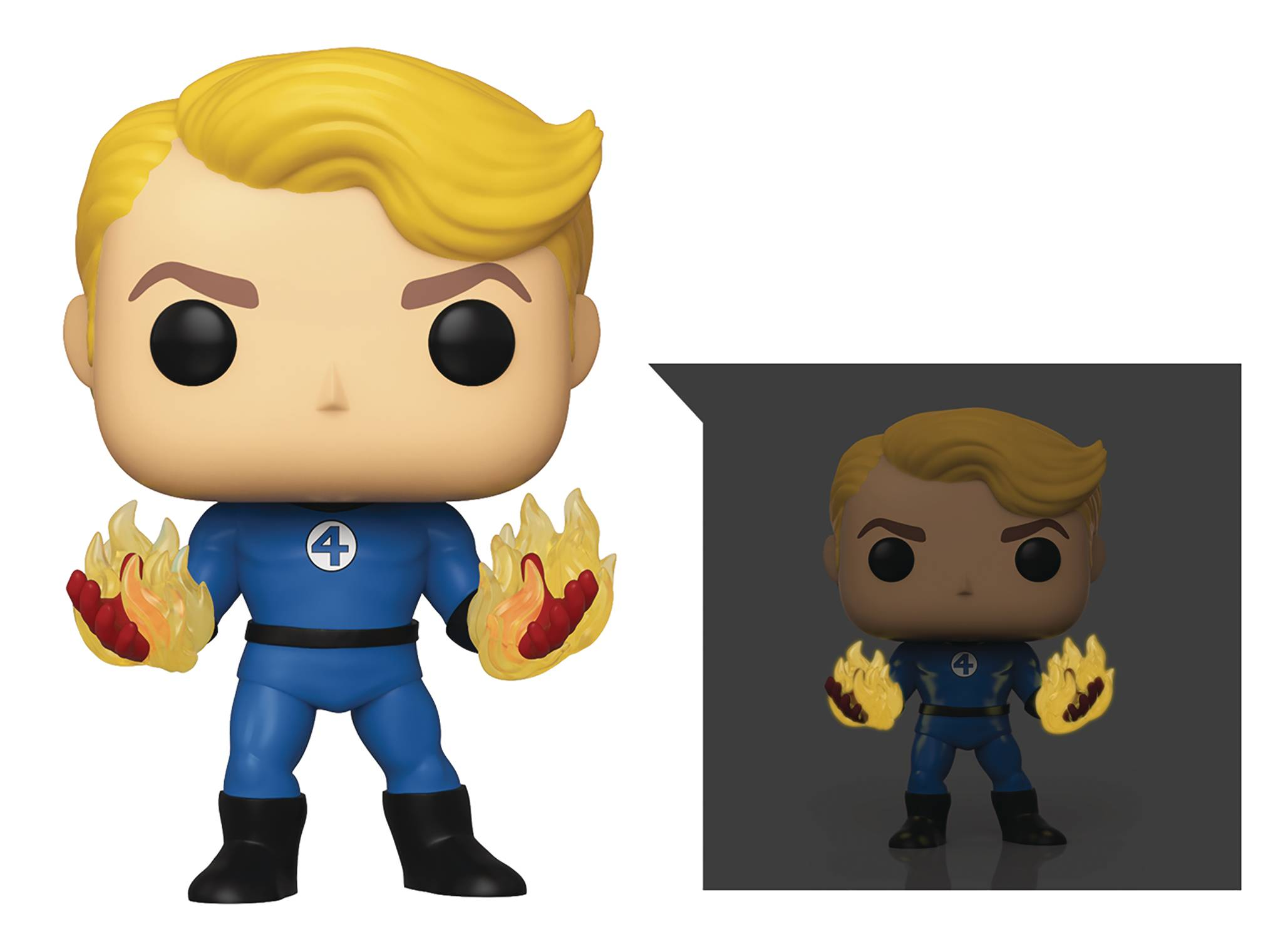 Funko Pop Specialty Series Human Torch Fantastic Four