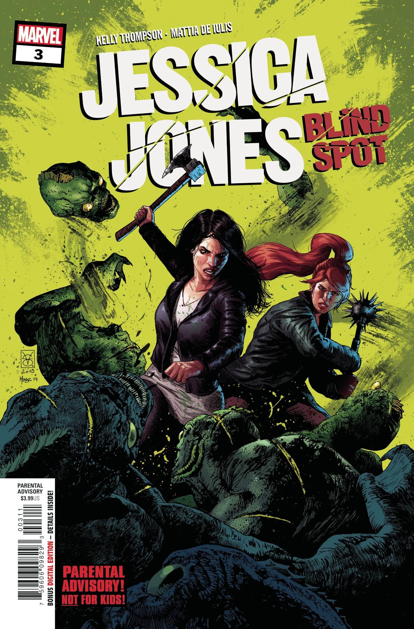 Jessica Jones Blind Spot #3