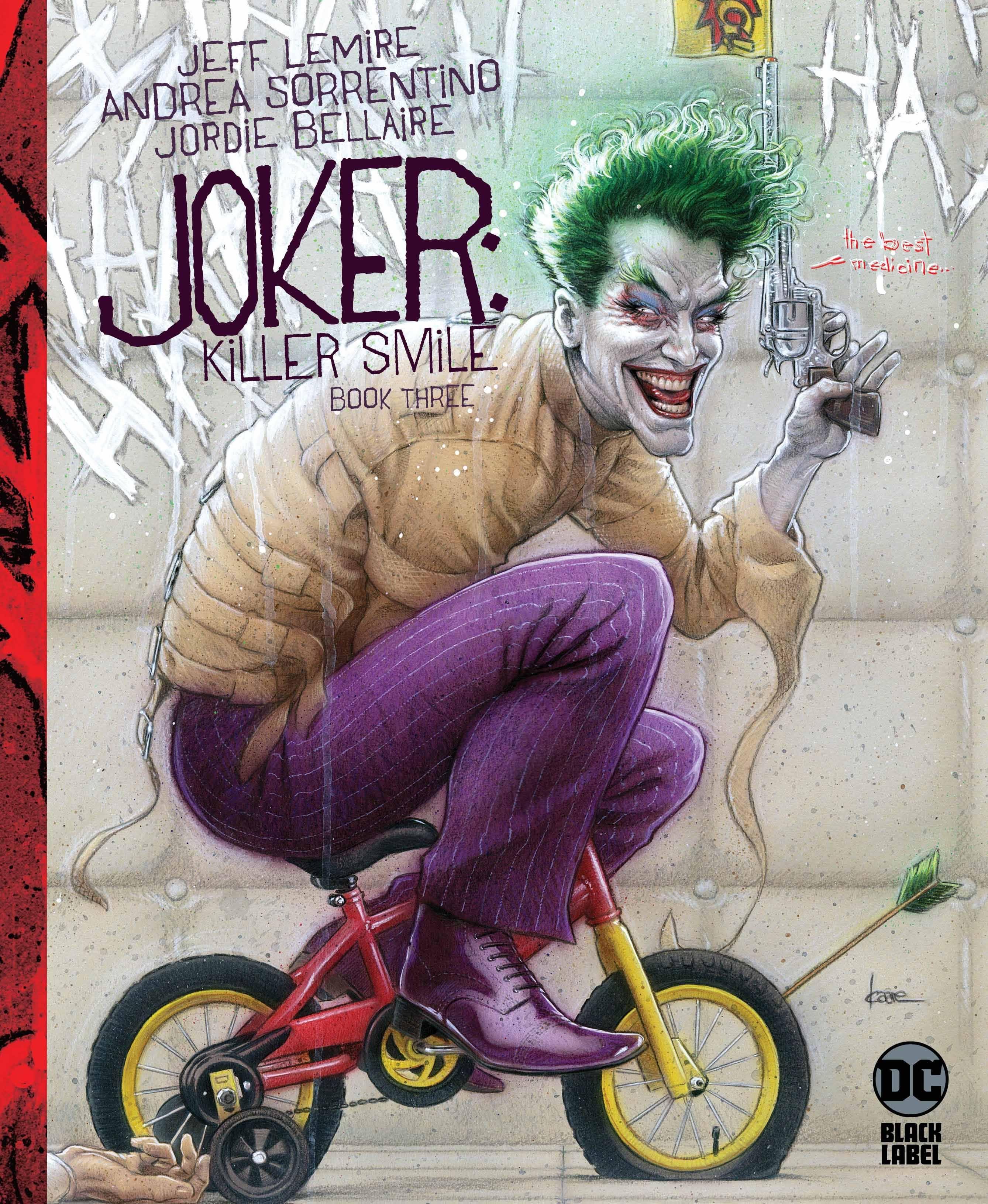 Joker Killer Smile #3 Kaare Andrews Var Ed