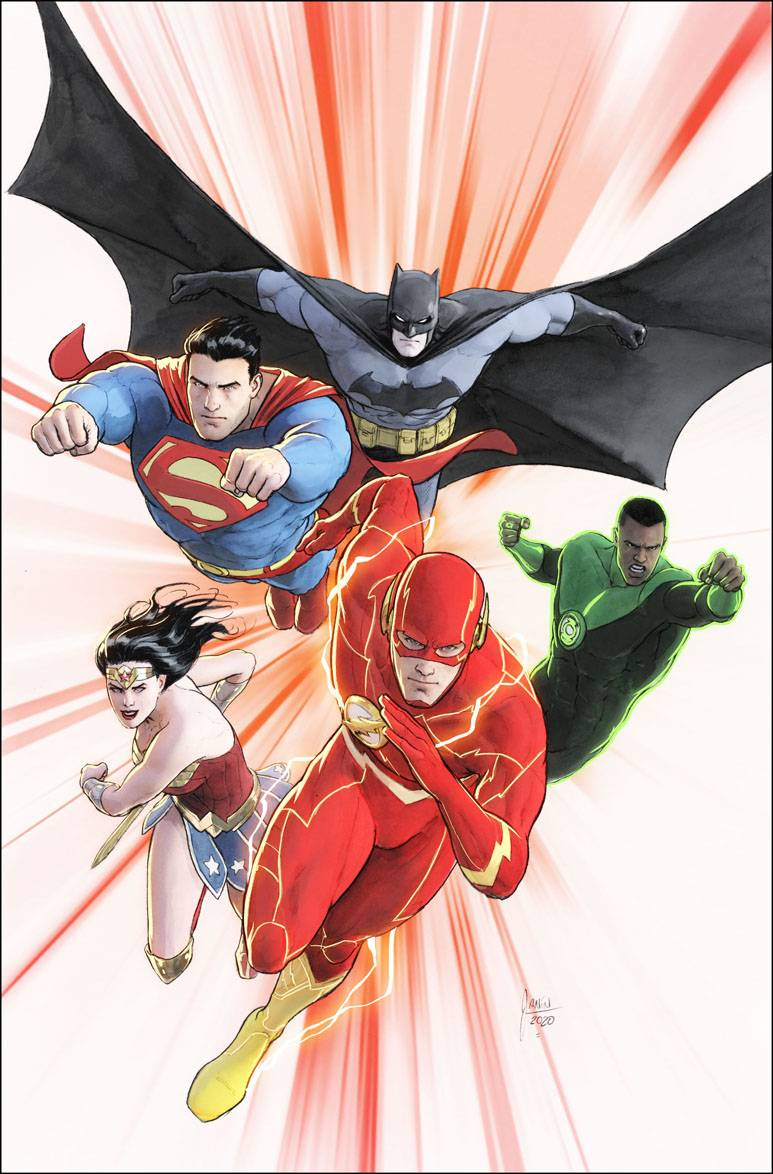 Justice League #47 Cover B Card Stock Mikel Janin Var Ed