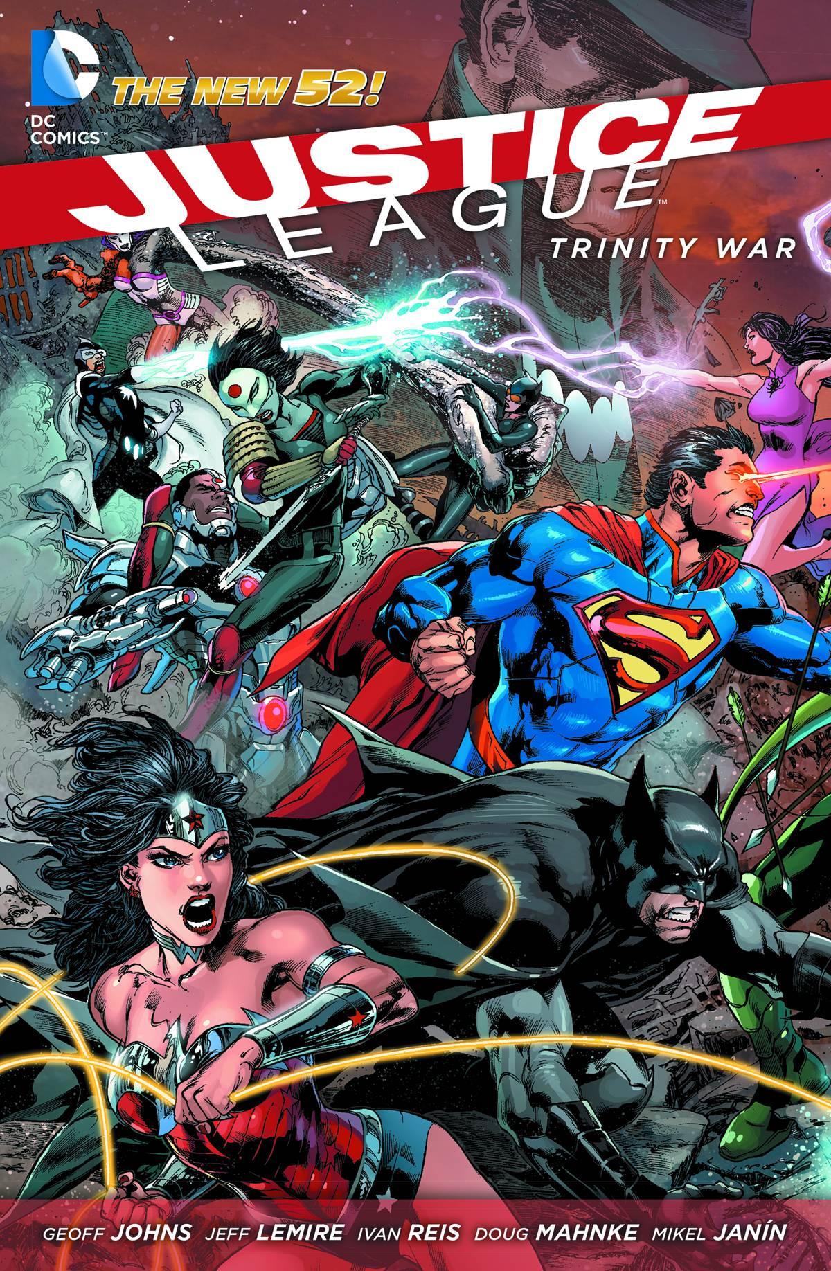 Justice League HC Trinity War