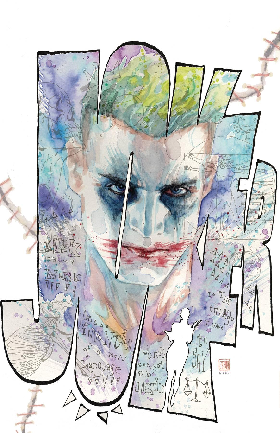 Joker / Harley Criminal Sanity Secret Files