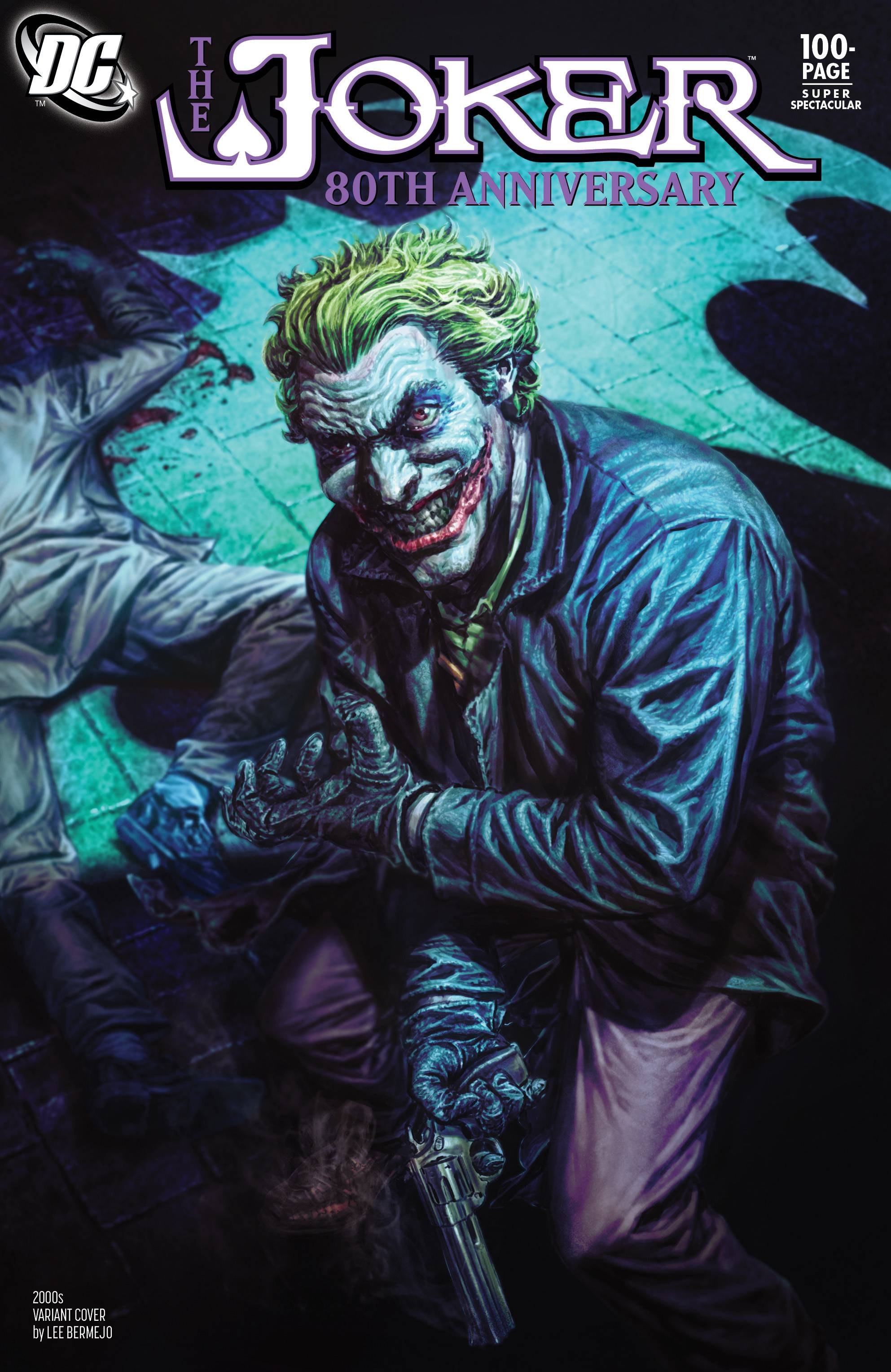Joker 80th Anniv 100 Page Super Spect #1 2000s Lee Bermejo Cover