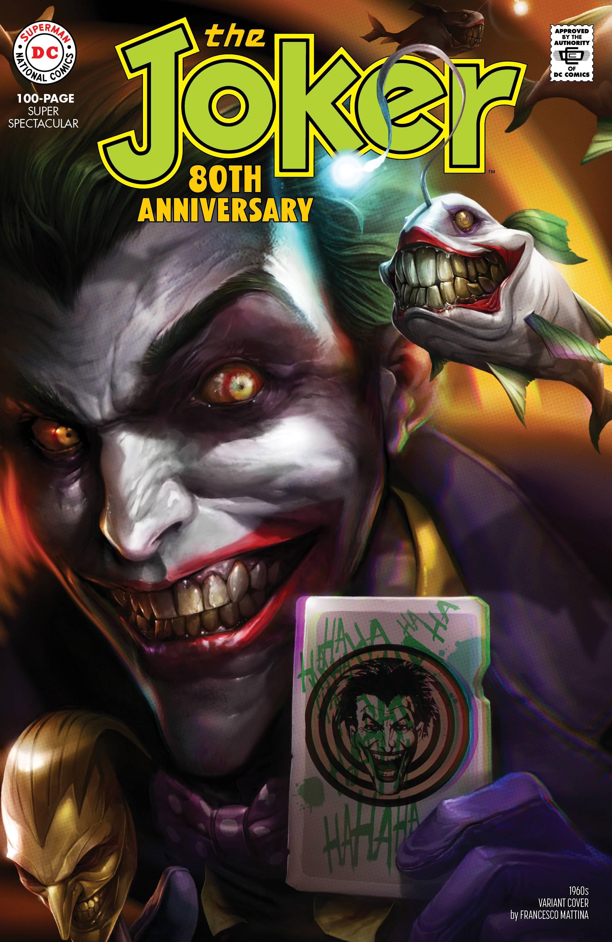 Joker 80th Anniv 100 Page Super Spect #1 1960s F Mattina Cover