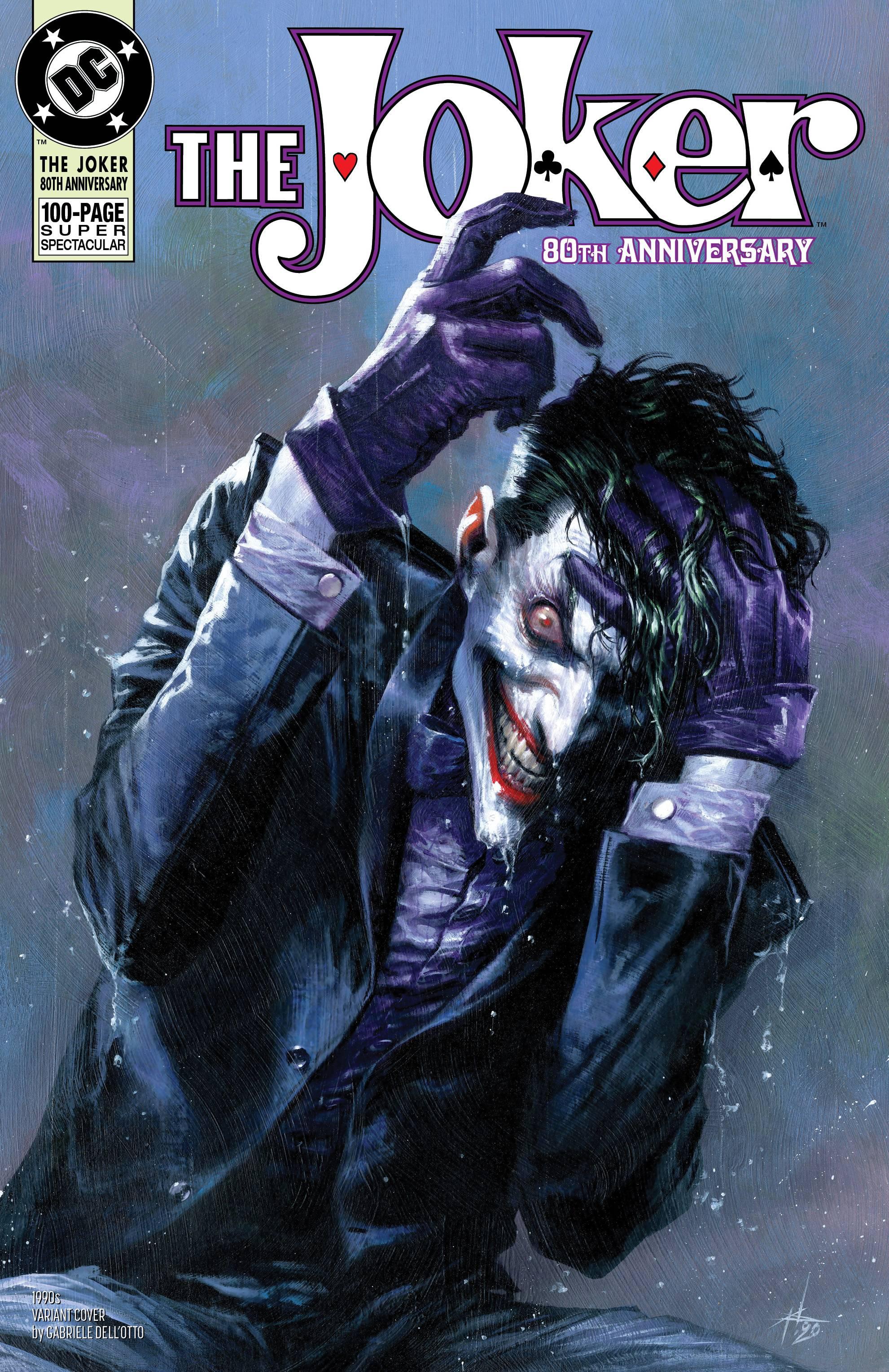 Joker 80th Anniv 100 Page Super Spect #1 1990s G Dellotto Cover