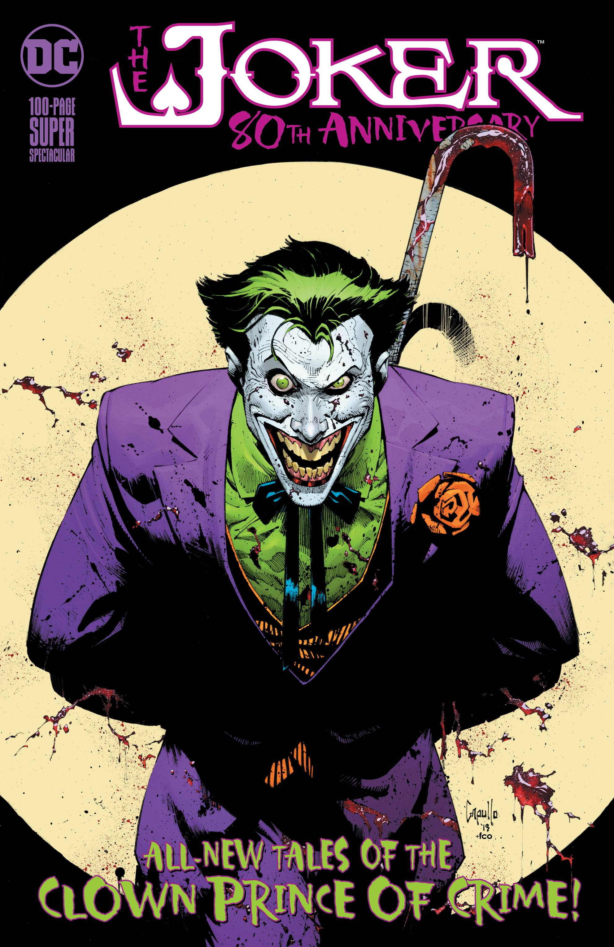 Joker 80th Anniv 100 Page Super Spect #1