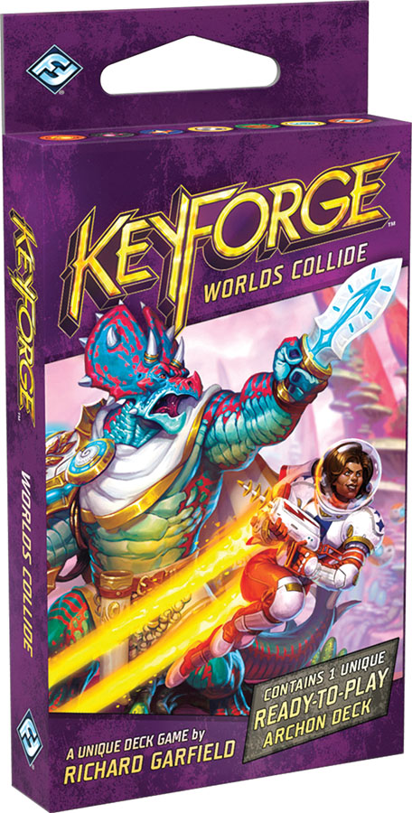 Keyforge World's Collide Deck