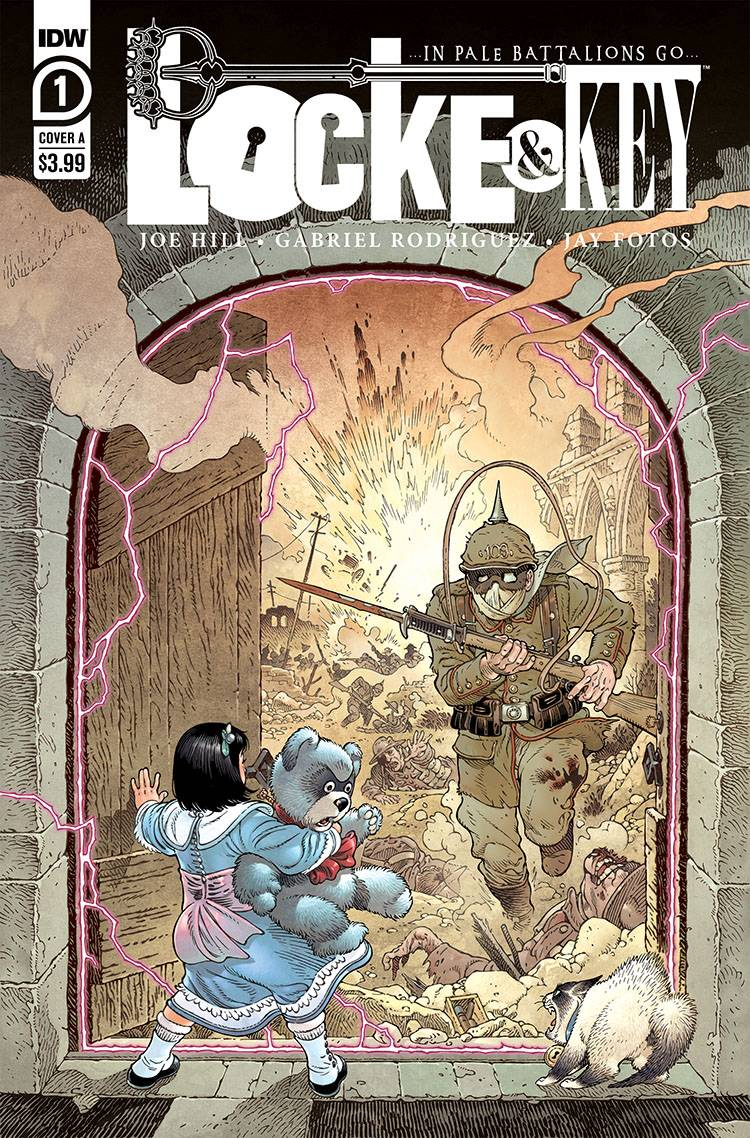 Locke & Key In Pale Battalions Go #1