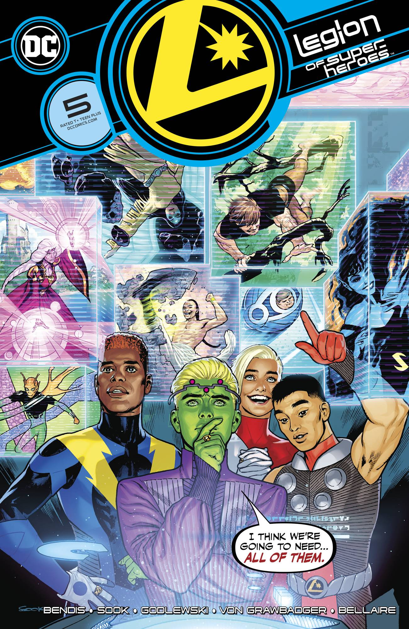 Legion of Super Heroes #5