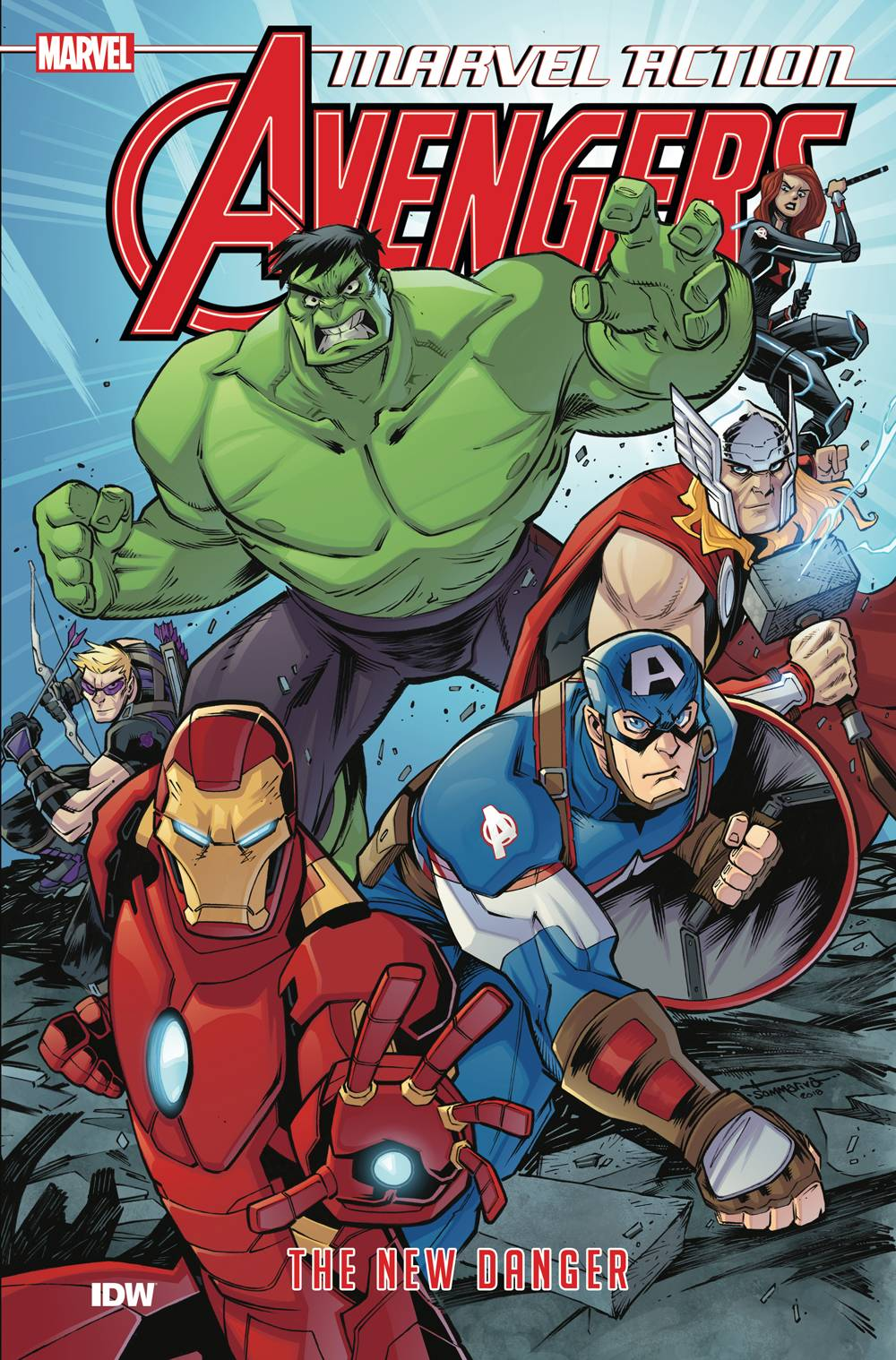 Marvel Action Avengers TP Vol. 1 New Danger