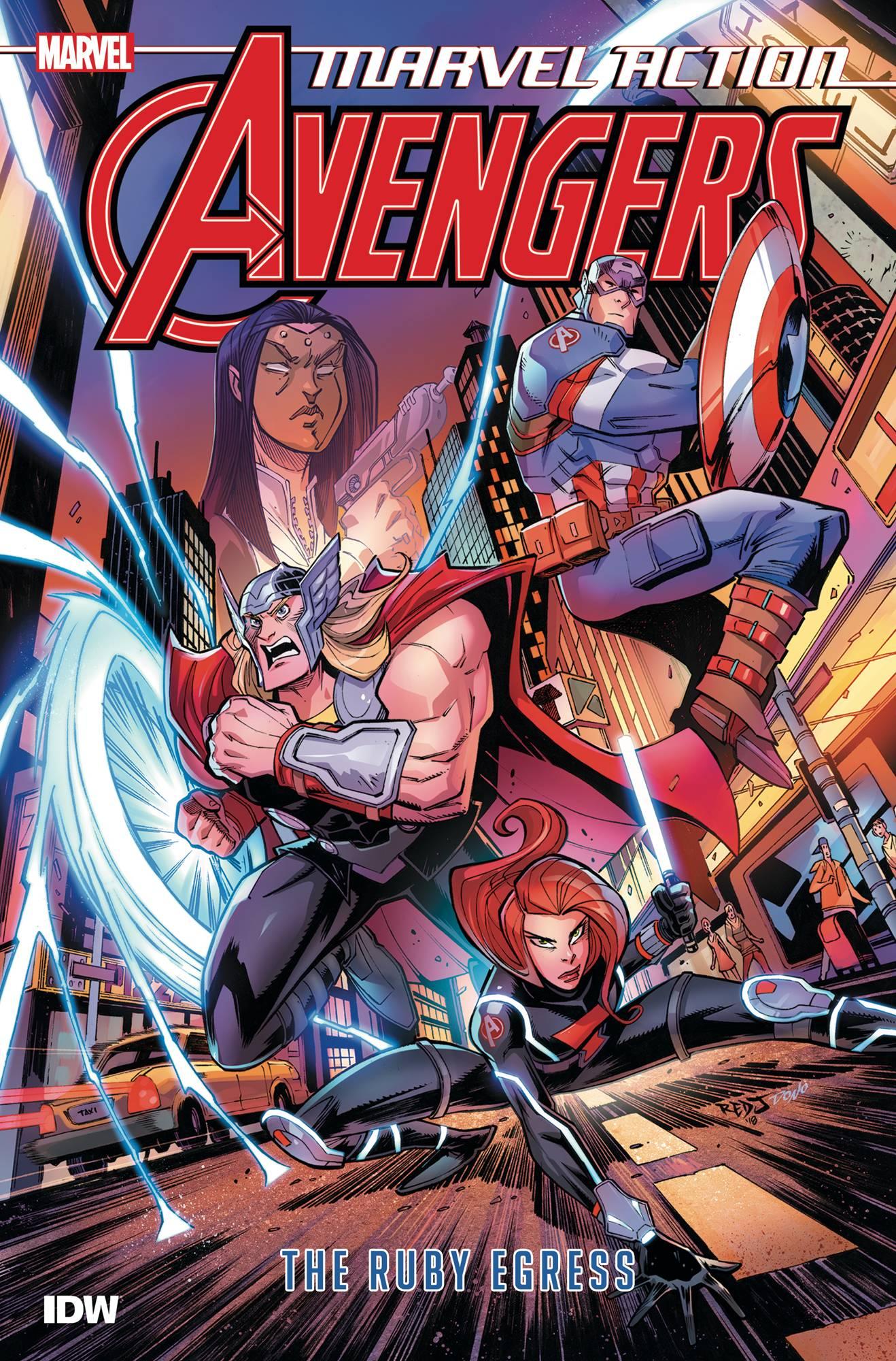 Marvel Action Avengers TP Vol. 2 Ruby Egress