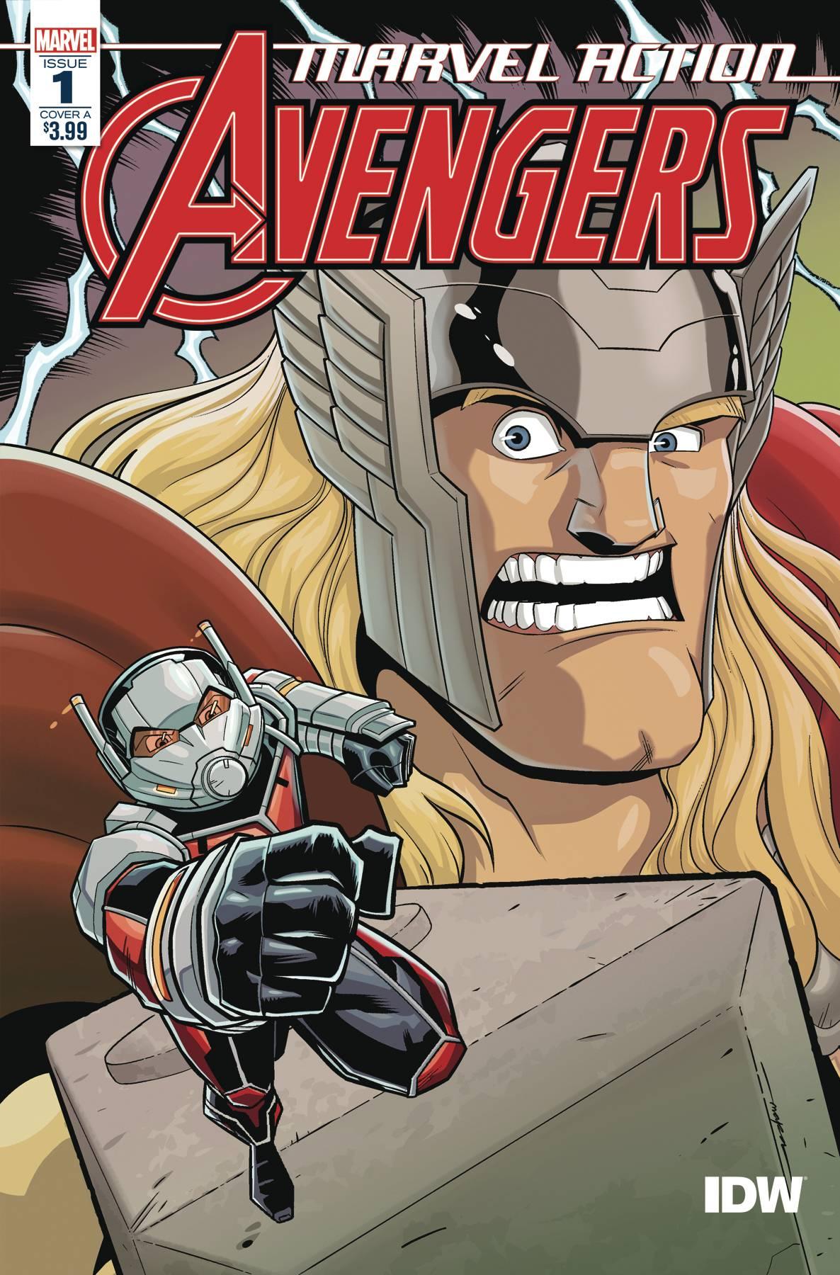 Marvel Action Avengers (2020) #1