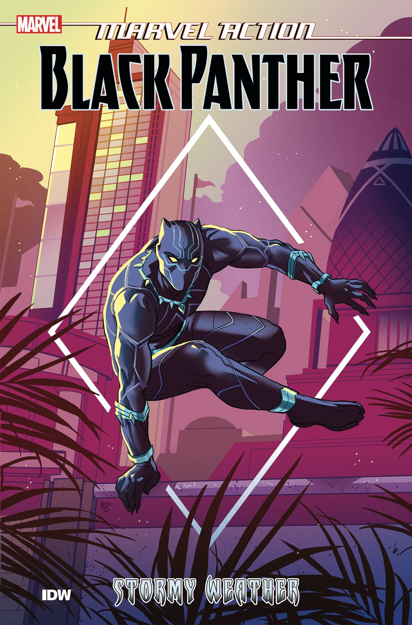 Marvel Action Black Panther TP Vol. 1 Stormy Weather