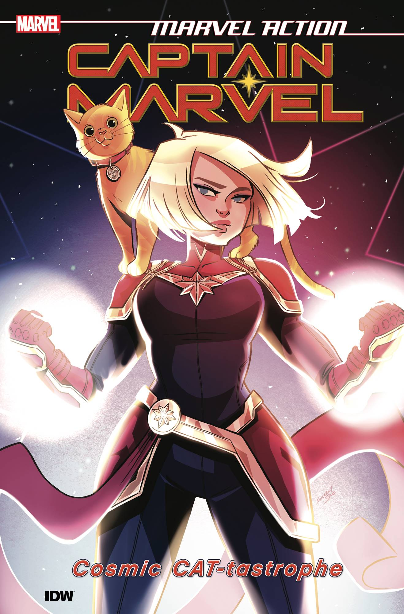 Marvel Action Captain Marvel TP Vol. 1 Cat-tastrophe