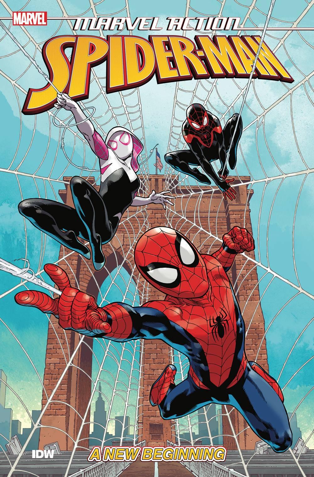Marvel Action Spider-Man TP Vol. 1 New Beginning