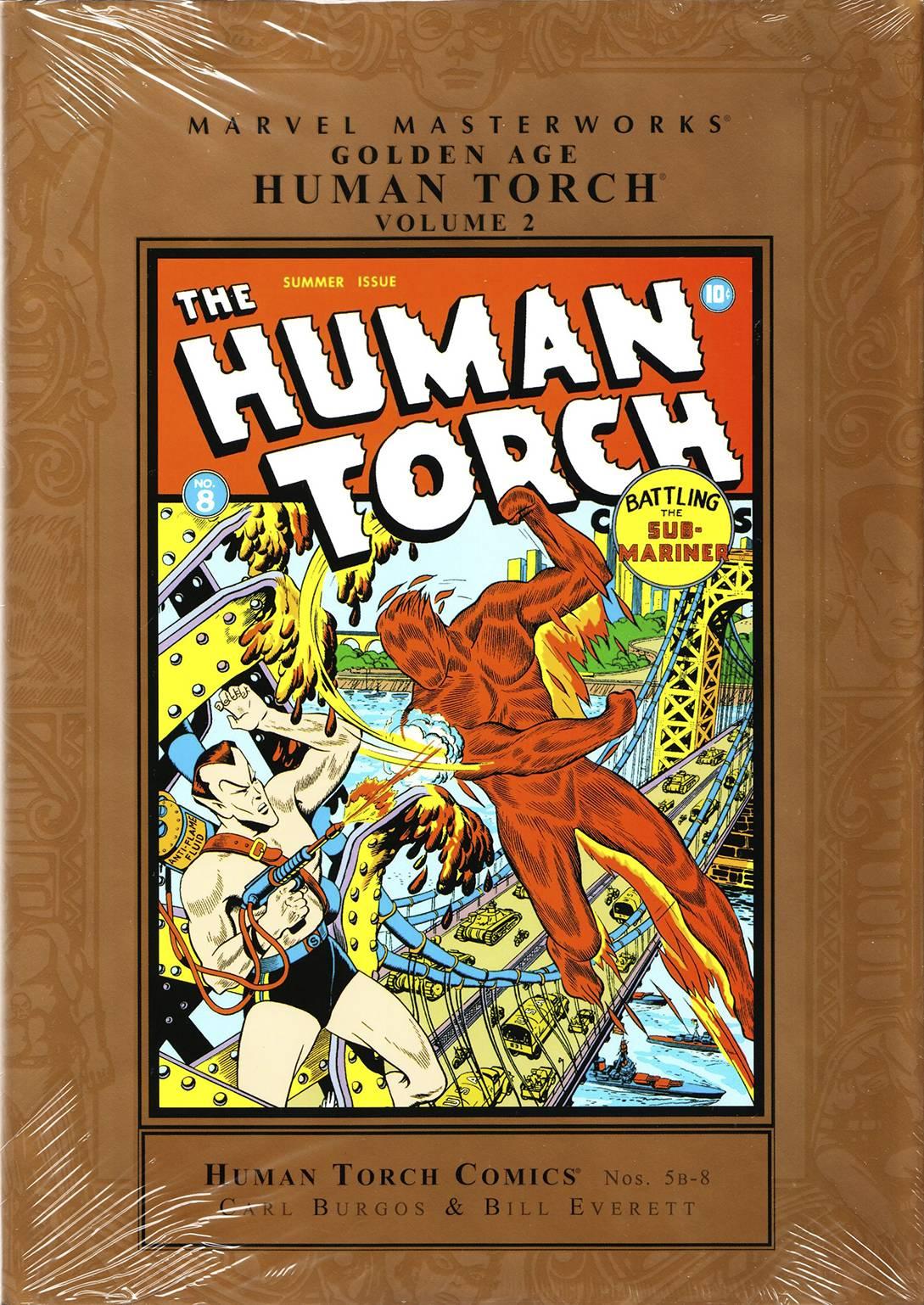 Marvel Masterworkds Golden Age Human Torch HC Vol. 2
