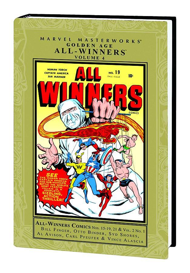 Marvel Masterworkds Golden Age All-Winners HC Vol. 4