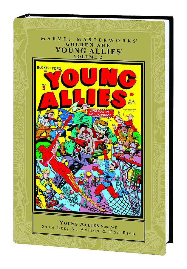 Marvel Masterworkds Golden Young Allies HC Vol. 2