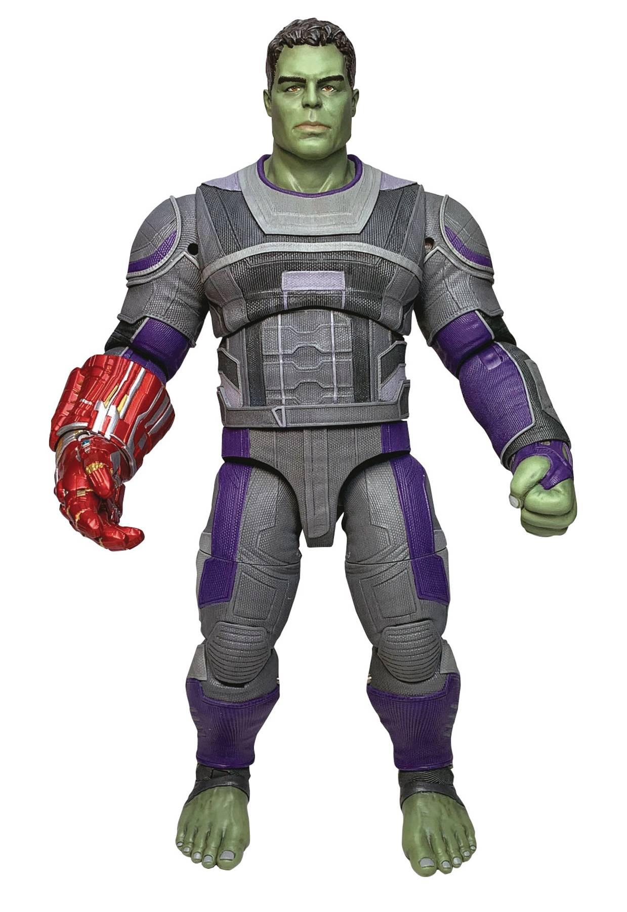 Marvel Select Avengers Endgame Hero Suit Hulk Figure