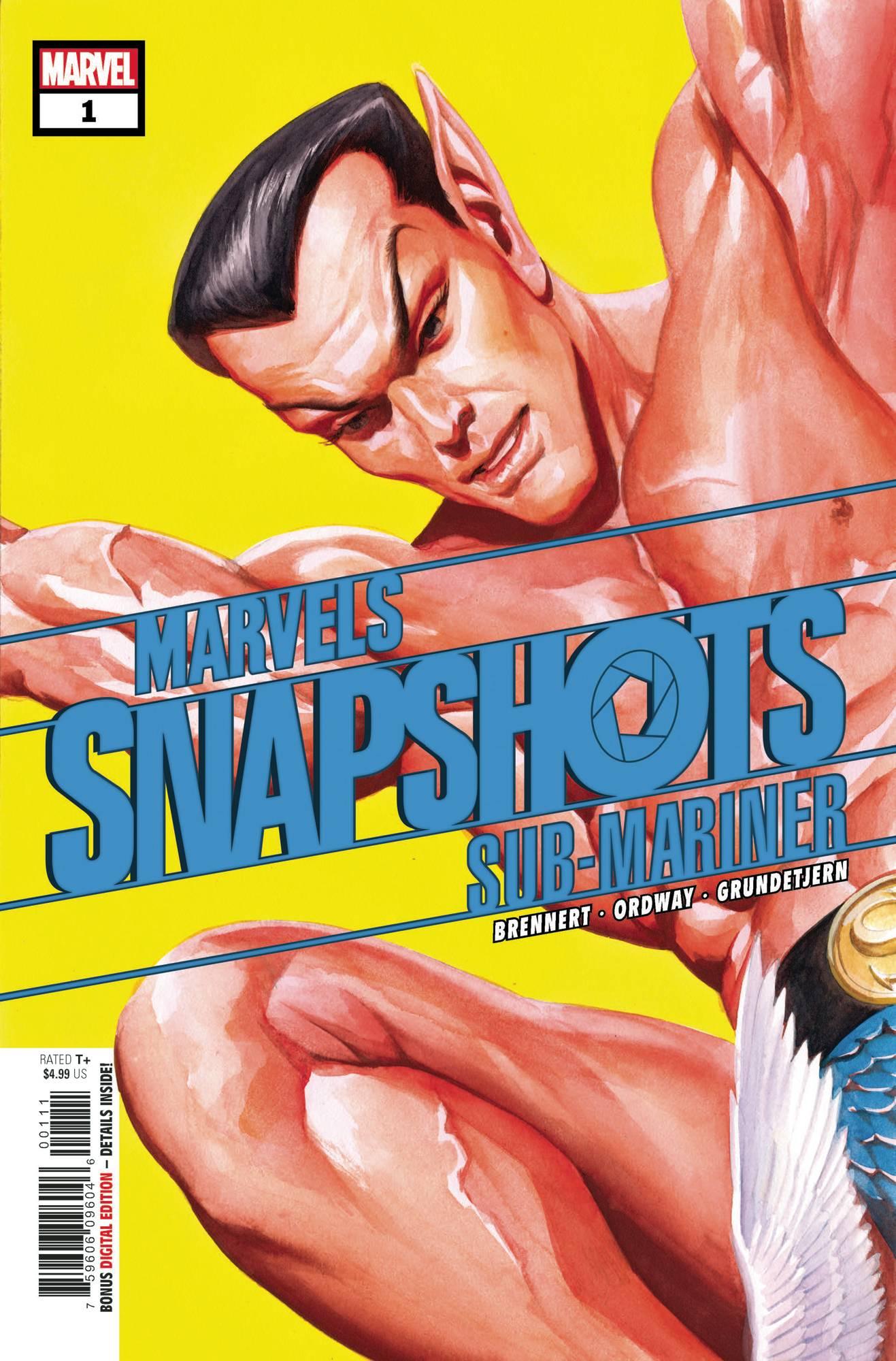 Marvel's Snapshot Sub-Mariner #1