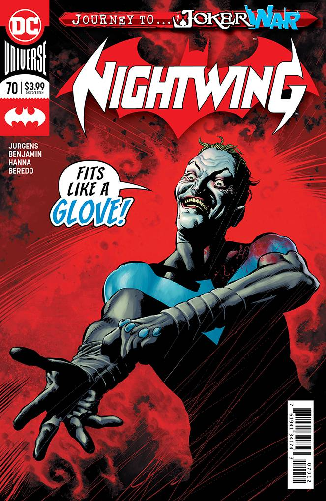 Nightwing #70 2nd Printing