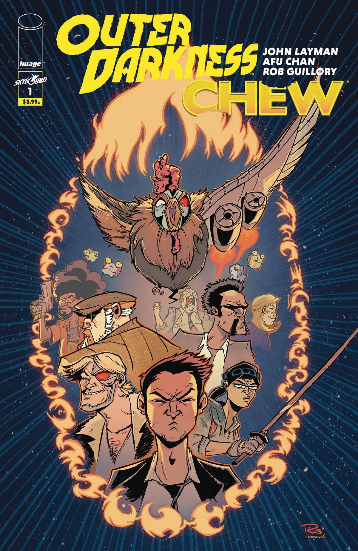 Outer Darkness Chew #1 Cvr B Guillory