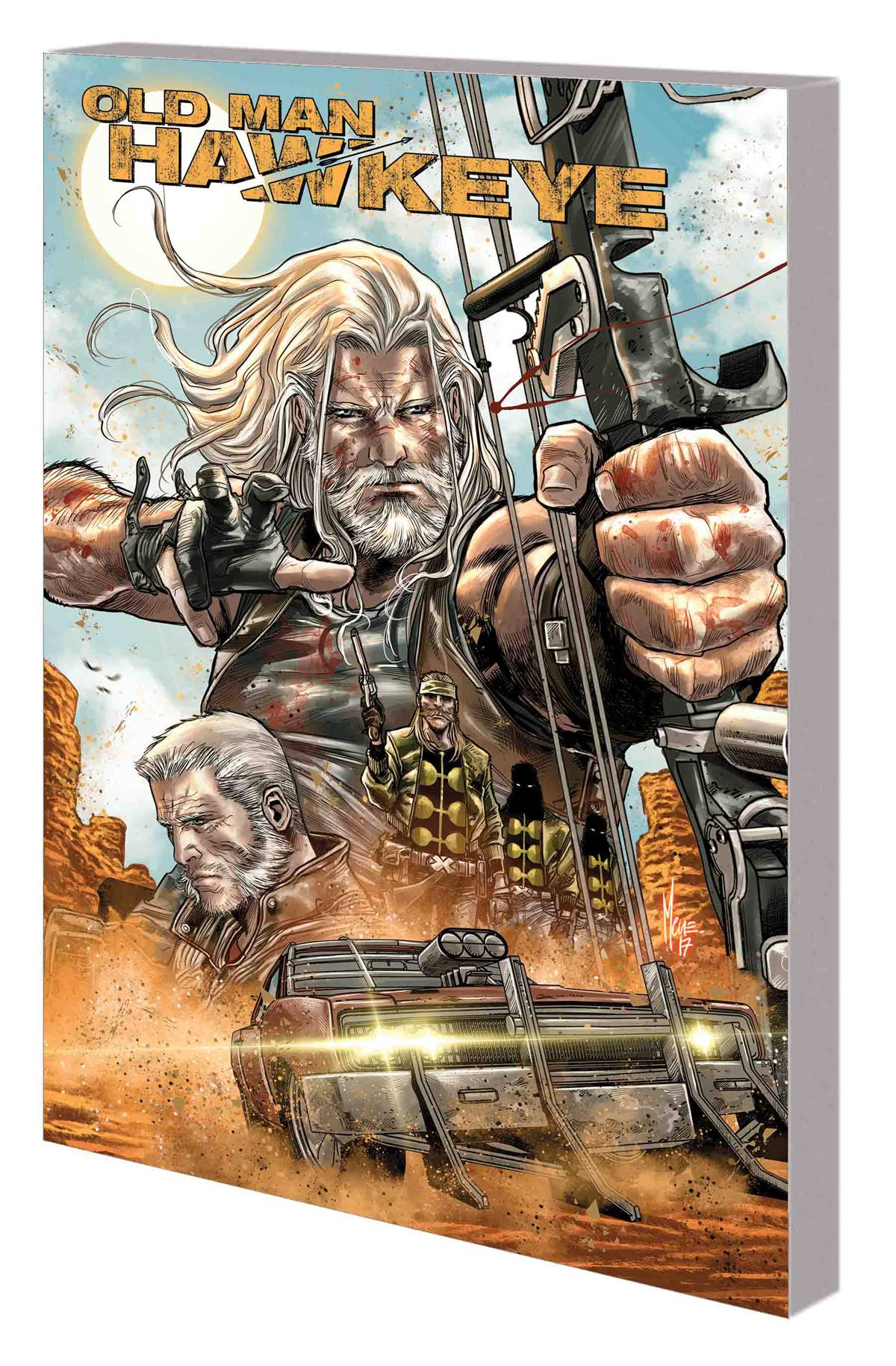 Old Man Hawkeye TP Vol 1 An Eye For An Eye