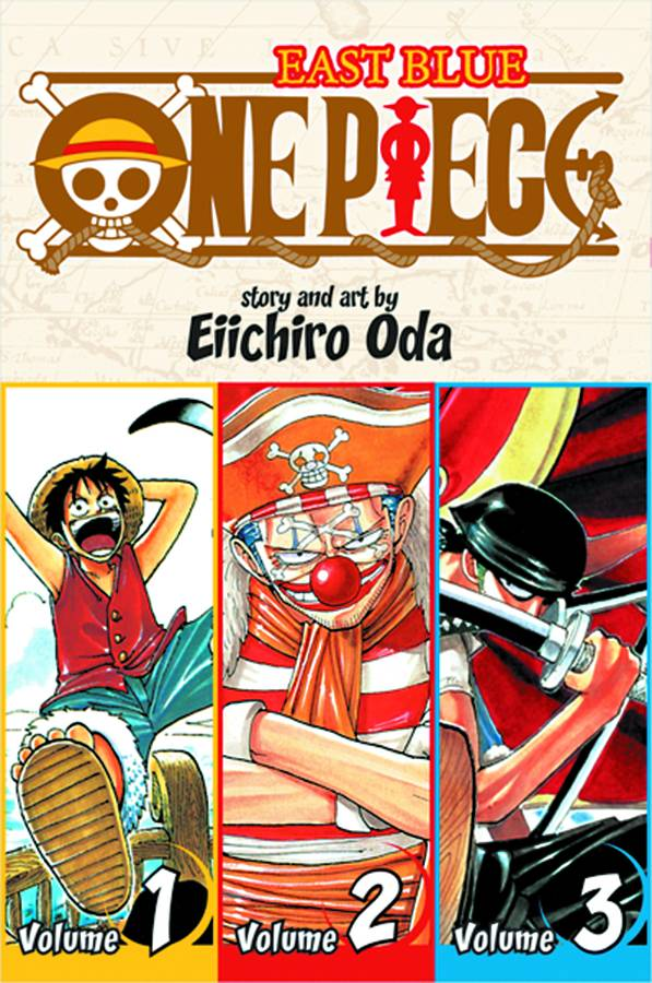 One Piece 3 in 1 Vol. 1