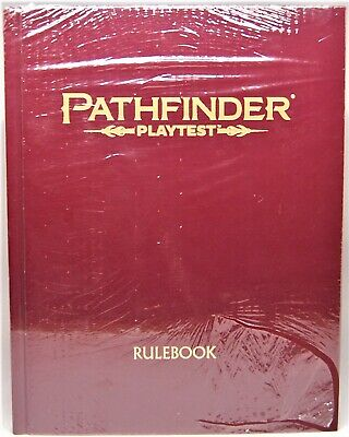 Pathfinder RPG: Playtest Rulebook Hardcover Special Edition