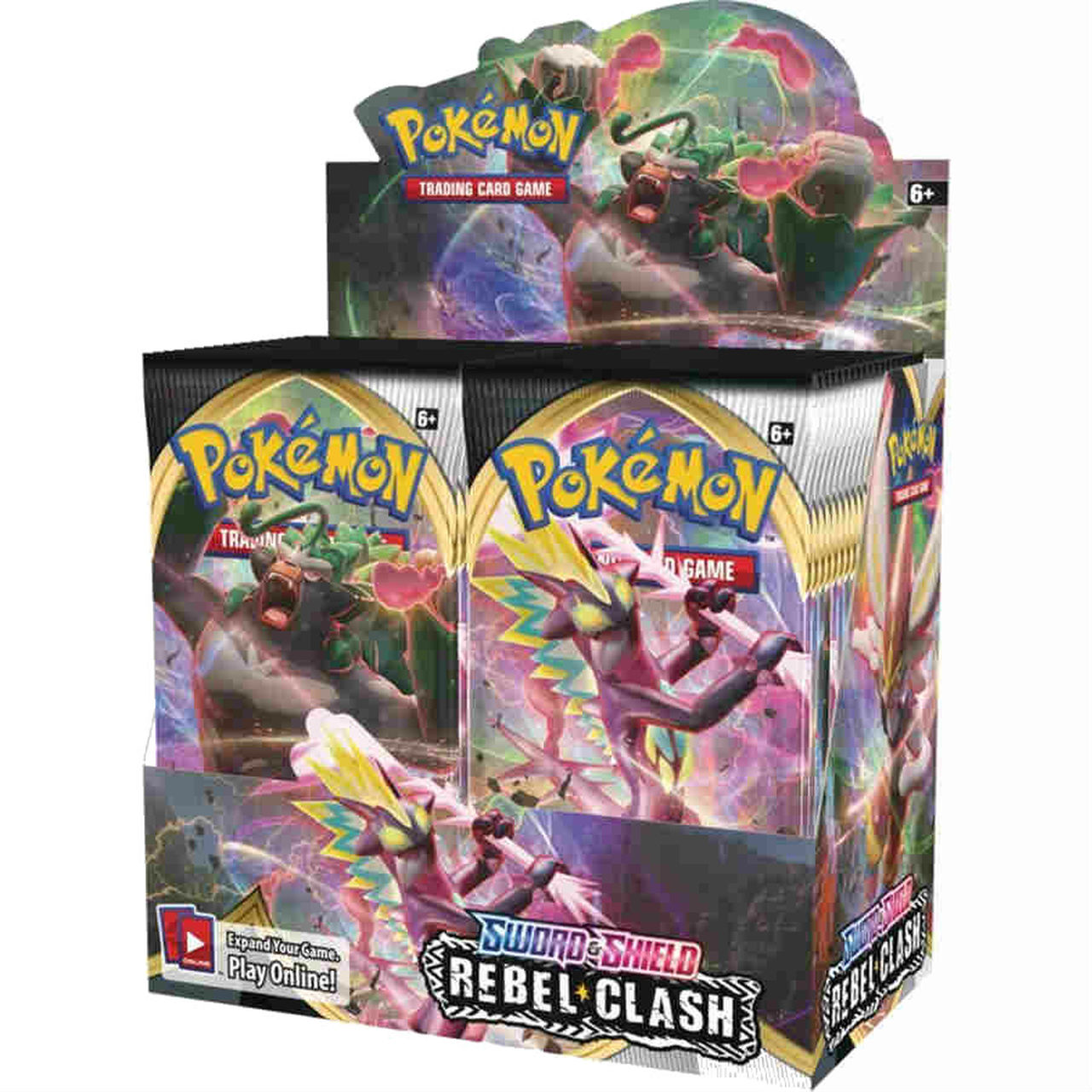 Pokemon TCG Rebel Clash Booster Box