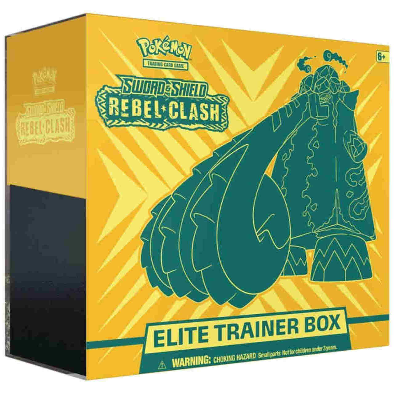 Pokemon TCG Rebel Clash Elite Trainer Box