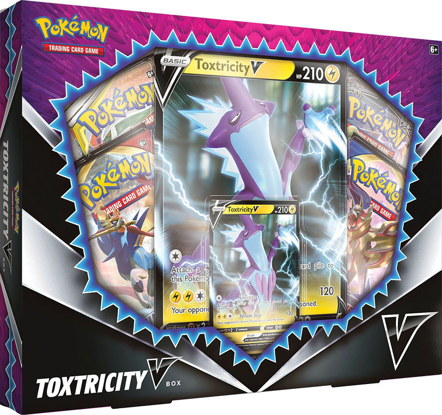 Pokemon Trading Card Game Toxtricity V Box