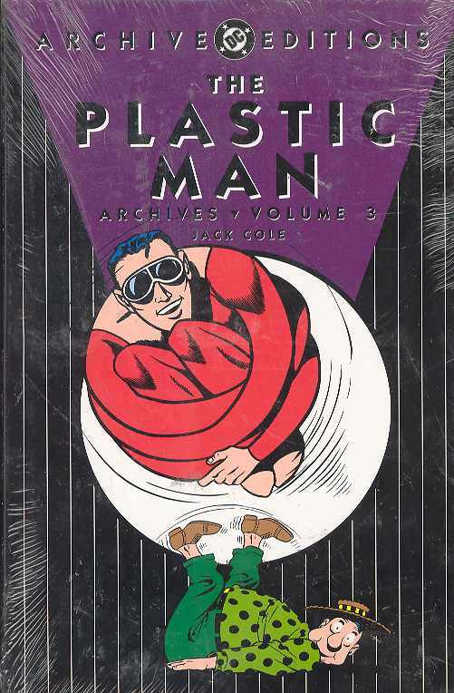Plastic Man Archives HC Vol. 3