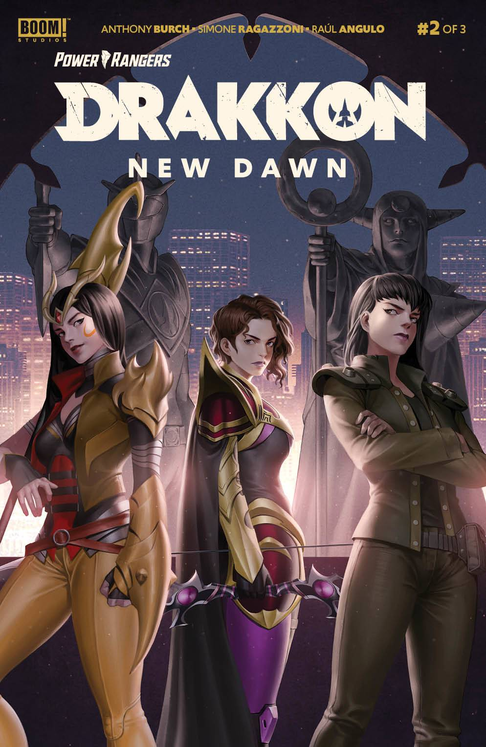 Power Rangers Drakkon New Dawn #2