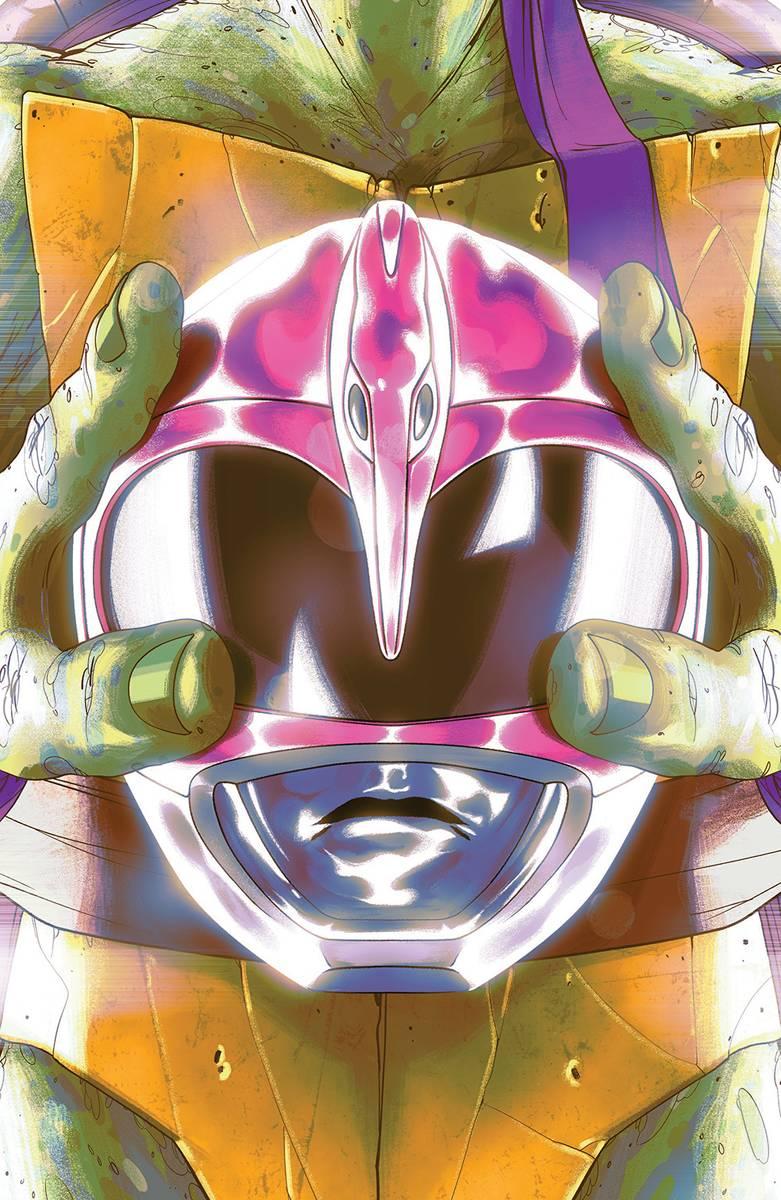 Power Rangers Teenage Mutant Ninja Turtles #4 Donnie Cvr