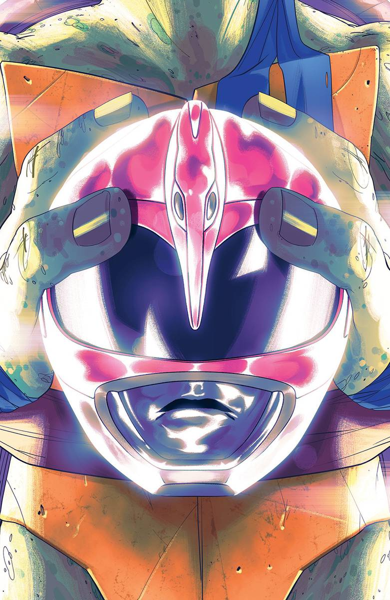 Power Rangers Teenage Mutant Ninja Turtles #4 Leo Cvr