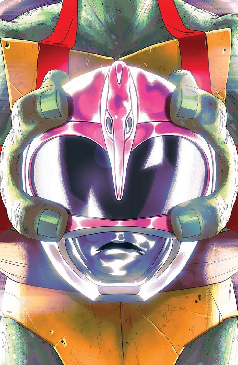 Power Rangers Teenage Mutant Ninja Turtles #4 Raph Cvr