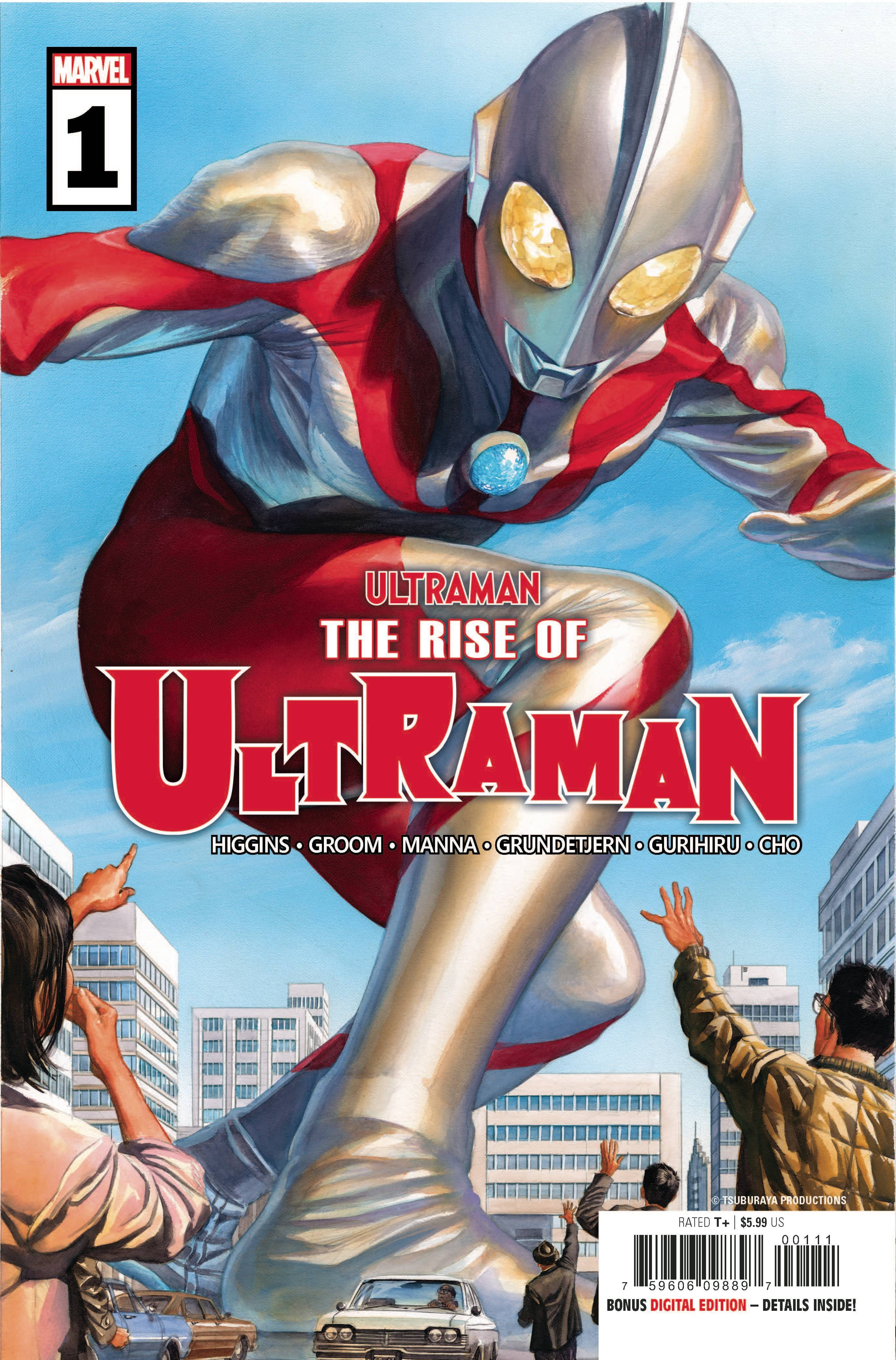 Rise of Ultraman #1