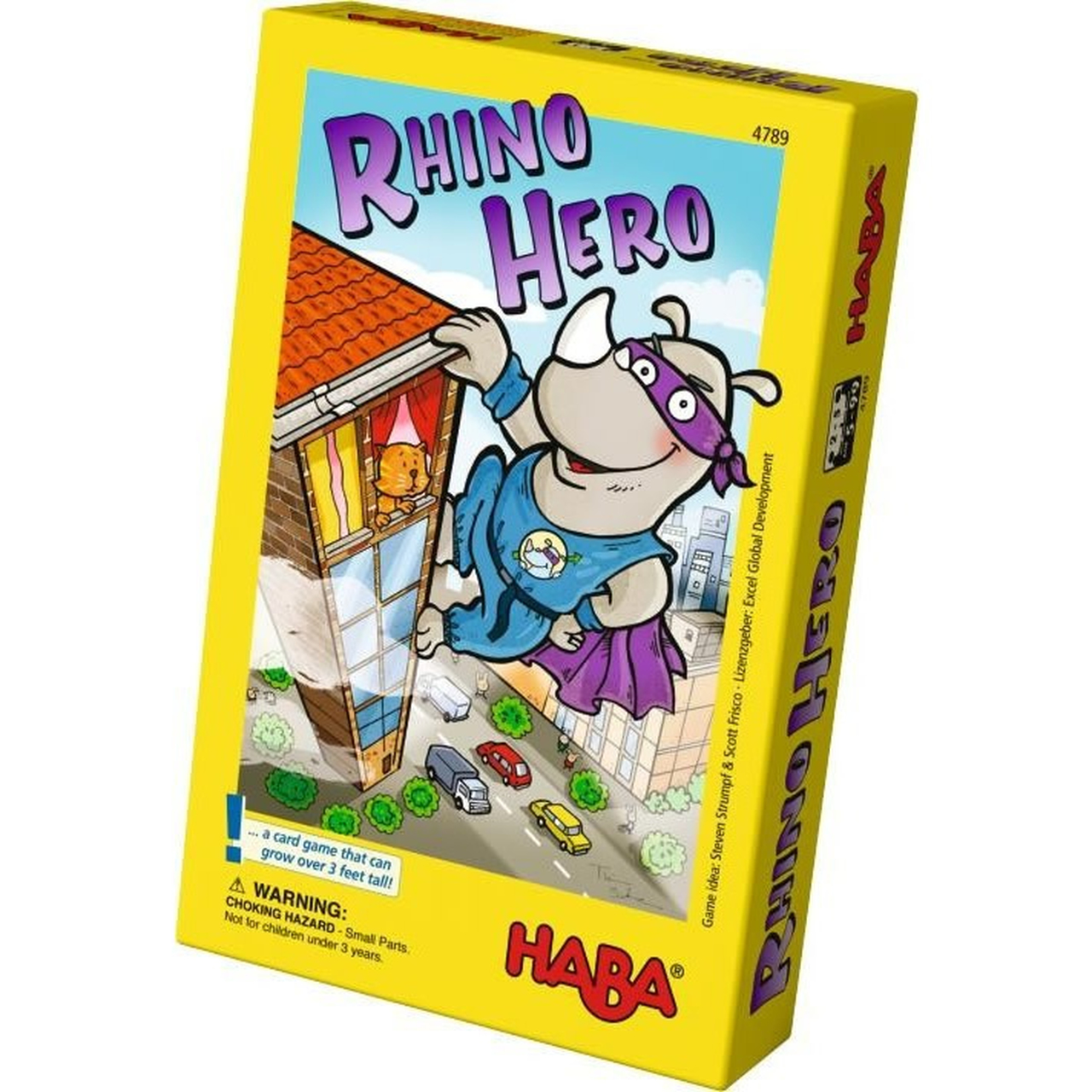 Rhino Hero - Active Kids - Board Game