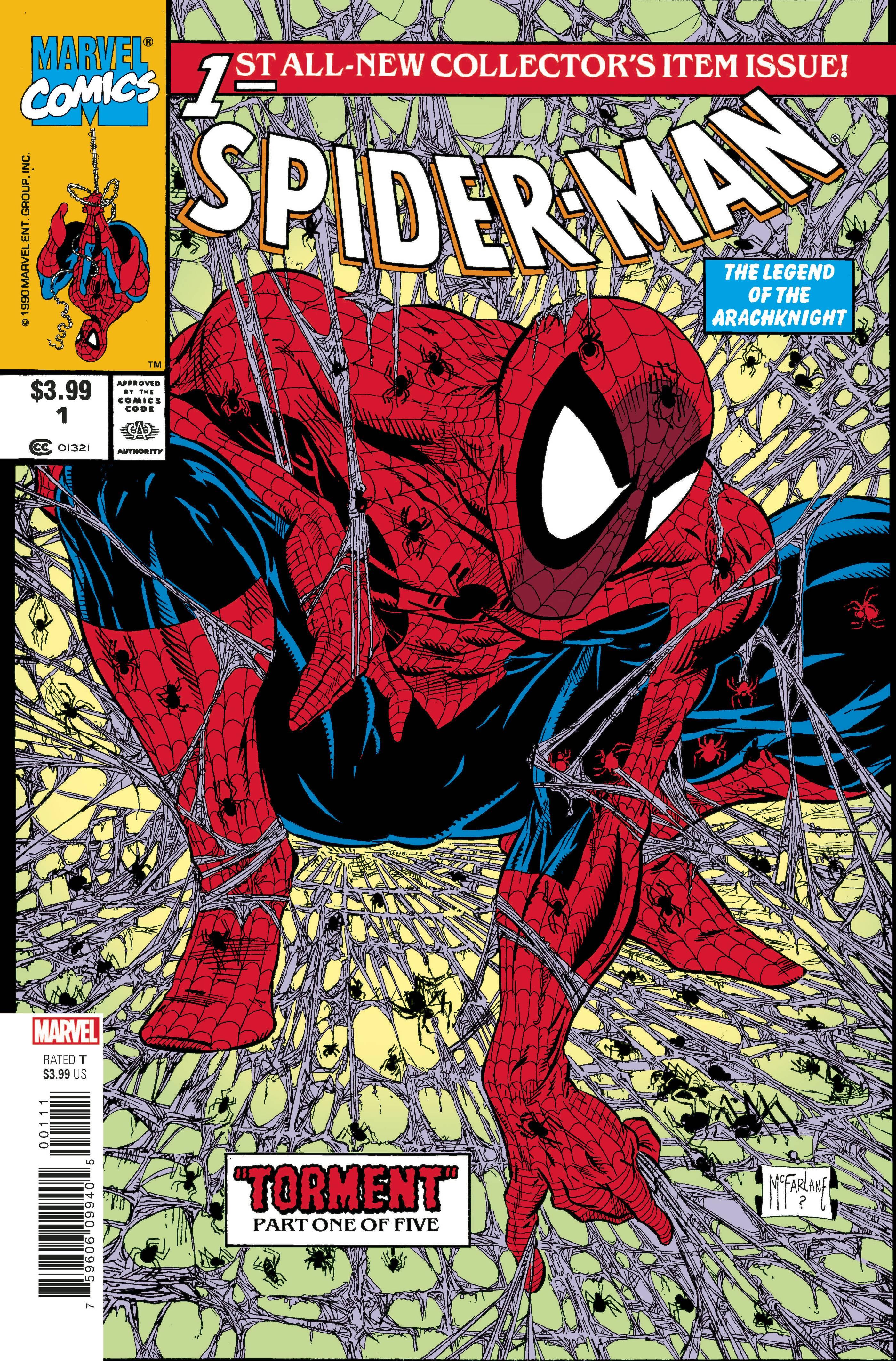 Spider-Man Facsimile Ed #1