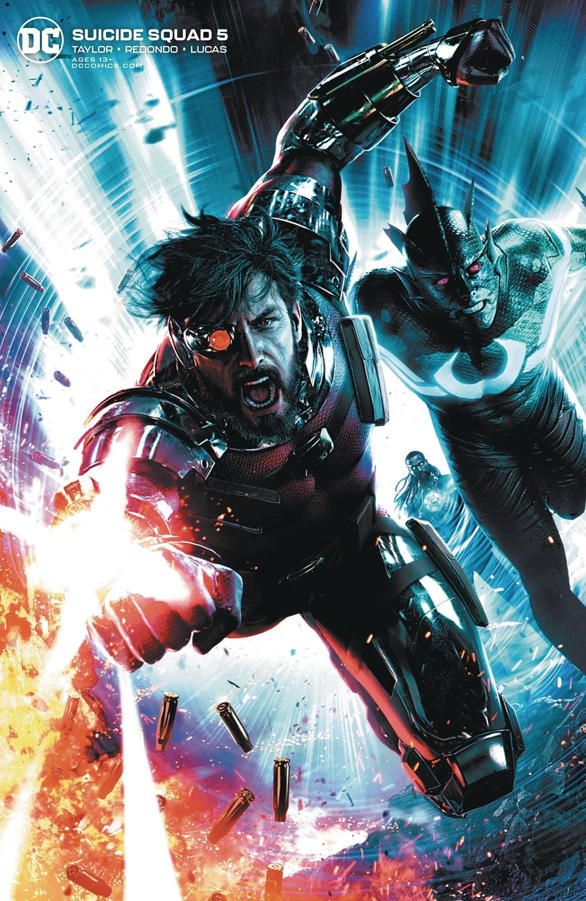 Suicide Squad #5 Jeremy Roberts Var Ed