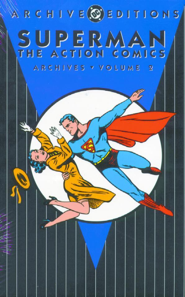 Superman Archives Action Comics HC Vol. 2
