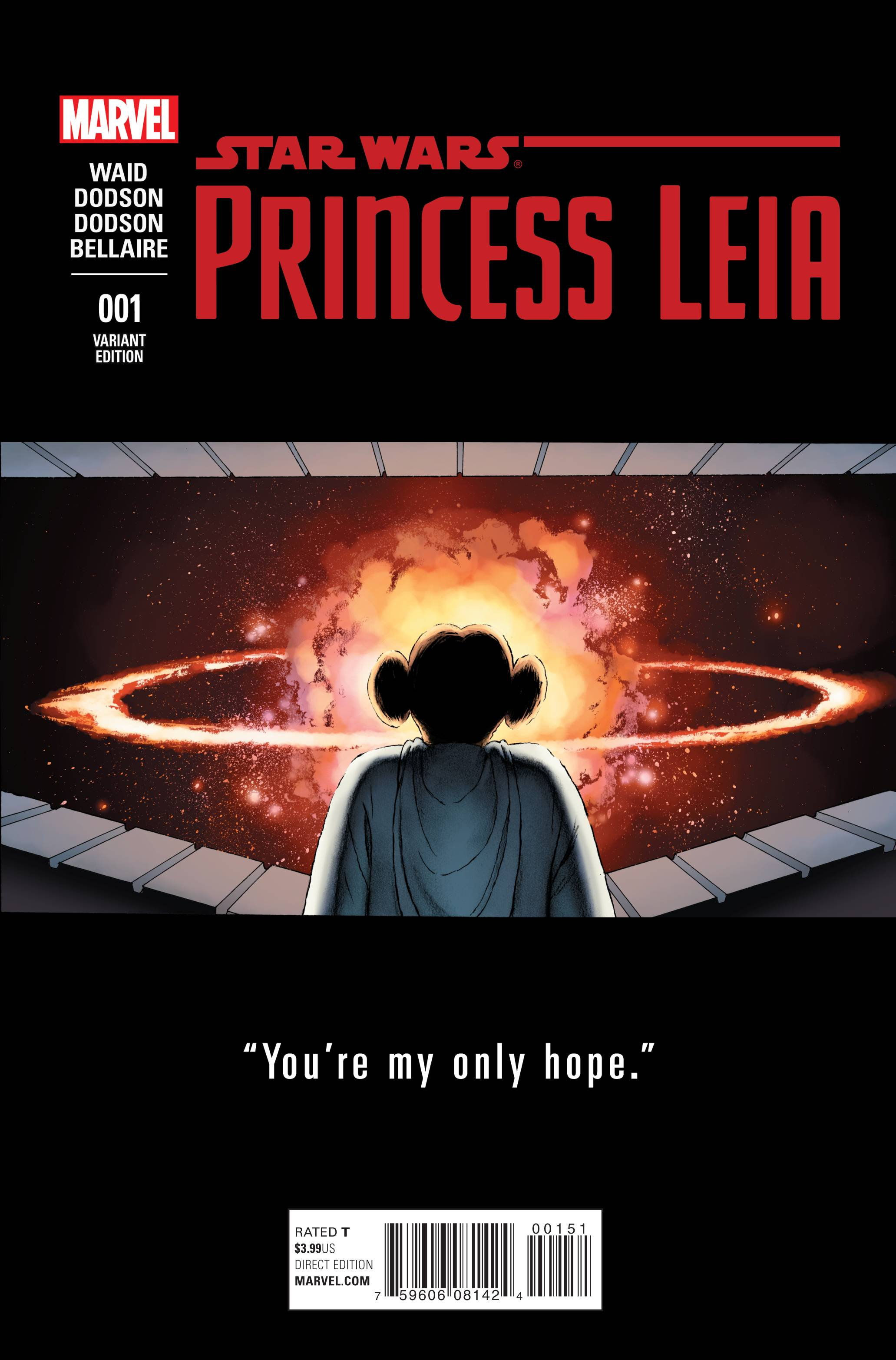 Star Wars Princess Leia #1 Cassady Variant