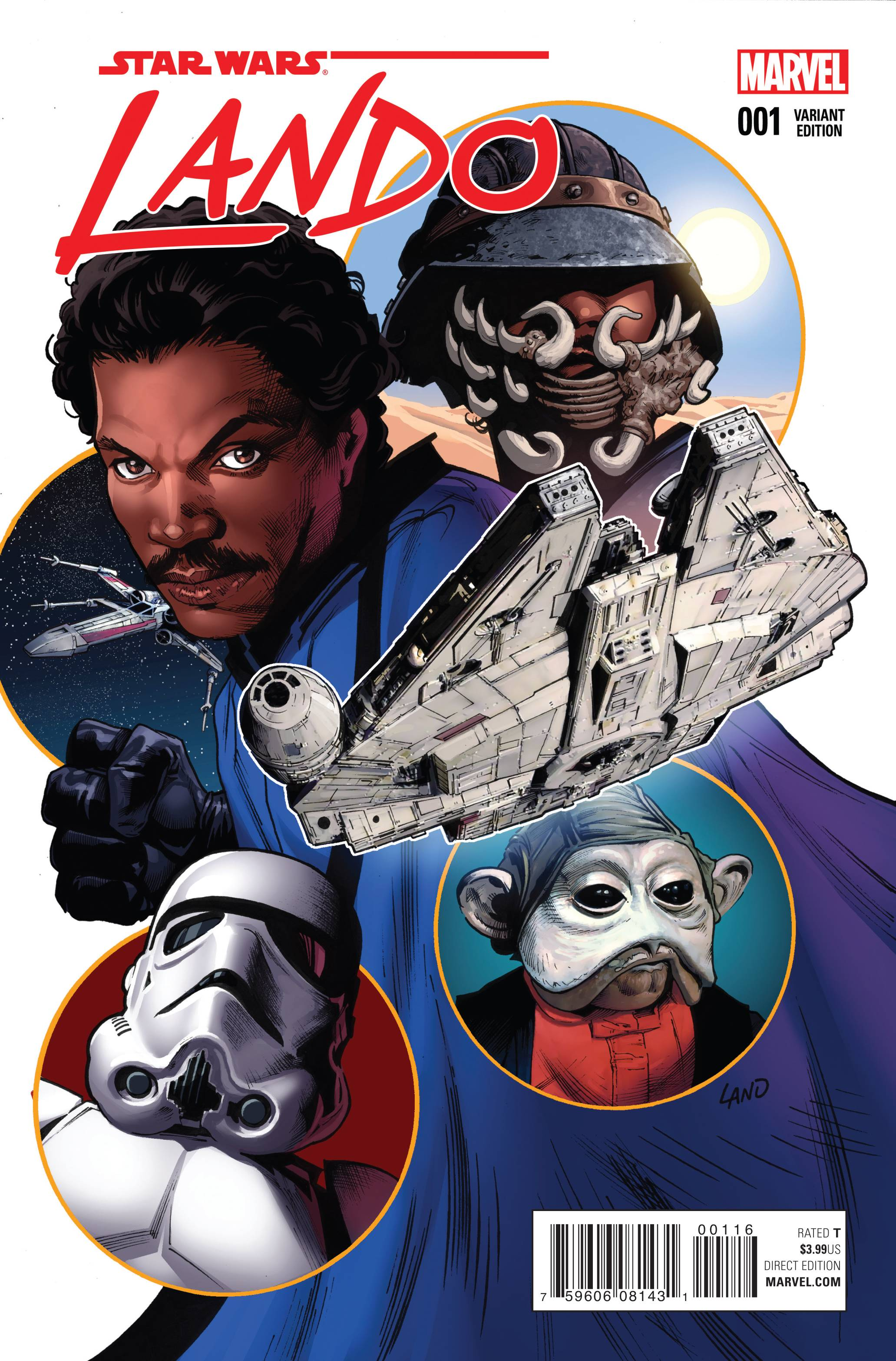Star Wars Lando #1 Land Variant