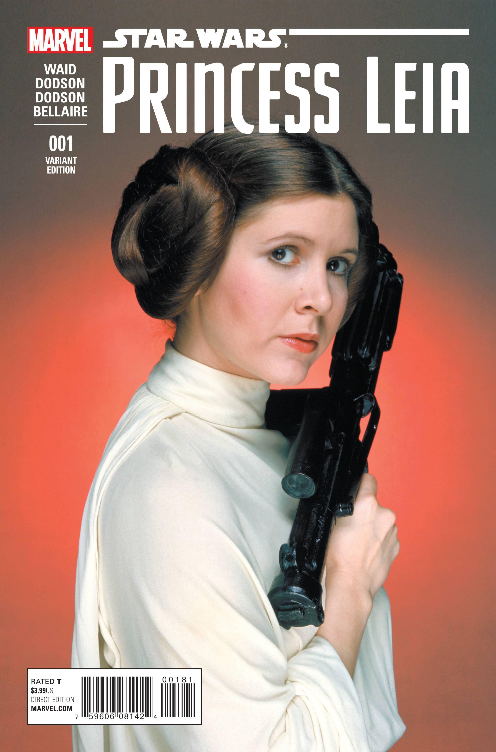 Star Wars Princess Leia #1 Movie Variant