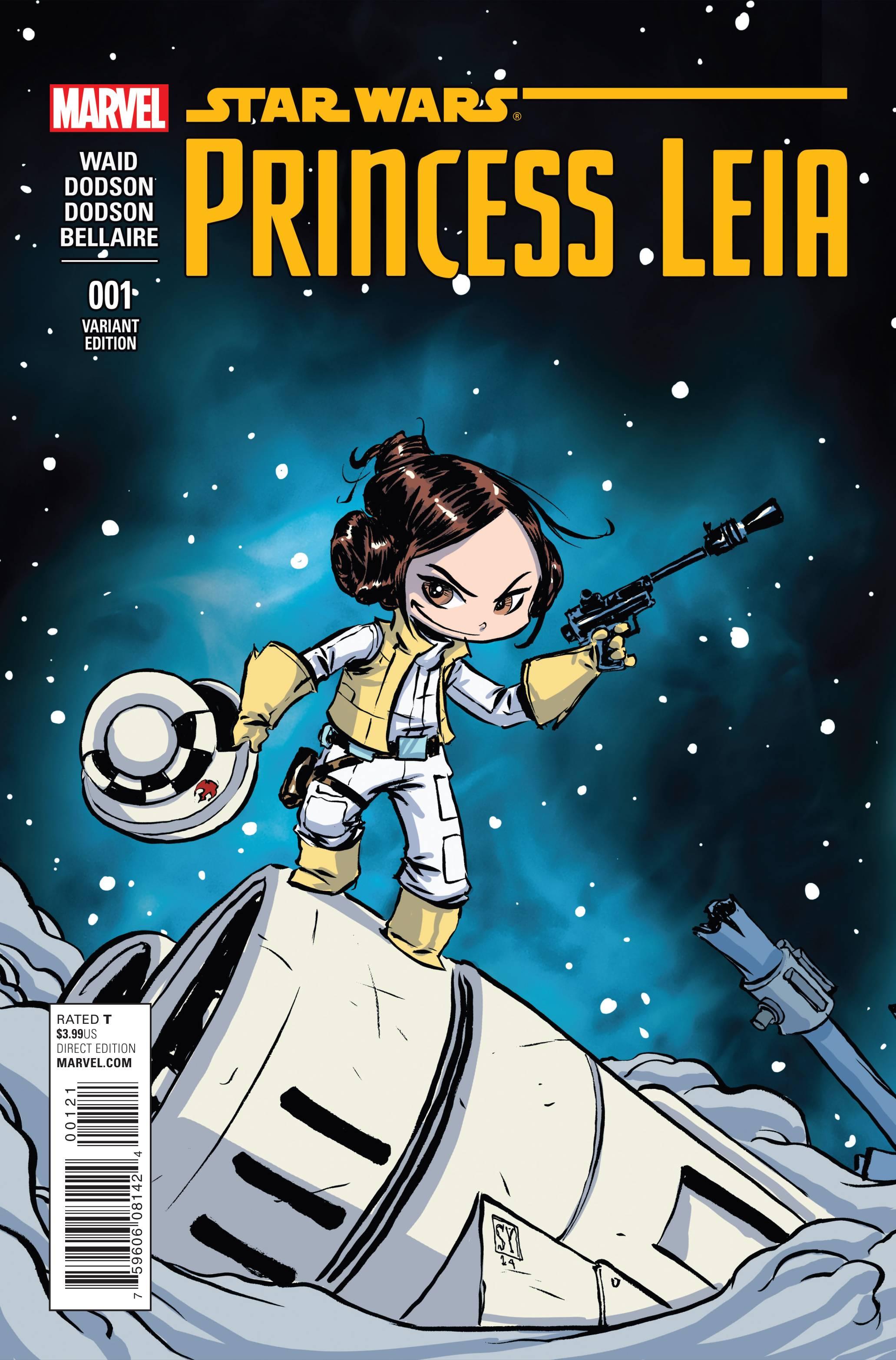 Star Wars Princess Leia #1 Young Variant