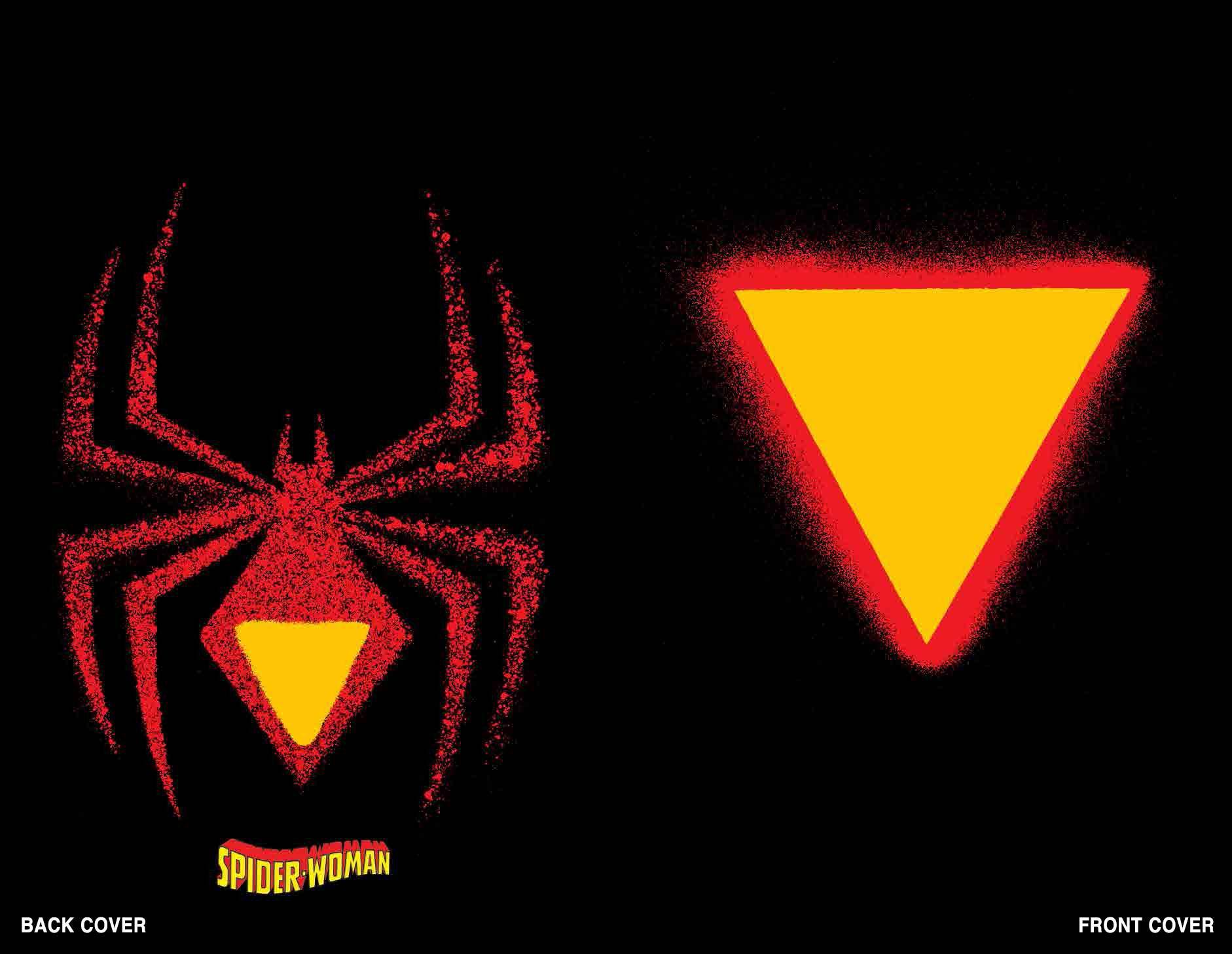 Spider-Woman #1 Chip Kidd Die Cut Cvr